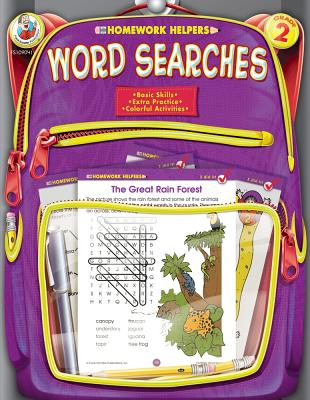 Homework Helper Word Searches, Grade 2 By Schaffer, Frank