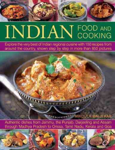 Indian Food and Cooking By Baljekar, Mridula